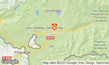 Mapa Bolqu�re Pyren�es 2000 Apartamentos 3982
