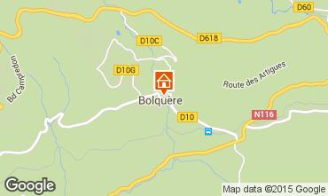 Mapa Bolquère Pyrenées 2000 Apartamentos 3982