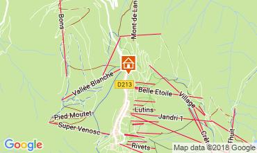 Mapa Les 2 Alpes Apartamentos 111828