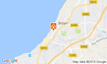 Mapa Biarritz Apartamentos 6432