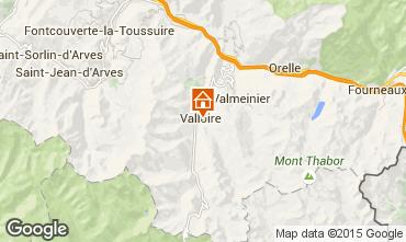 Mapa Valloire Apartamentos 38237