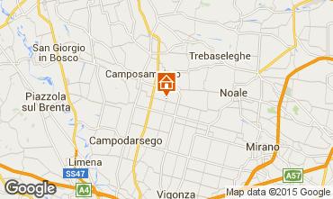 Mapa Veneza Apartamentos 16456