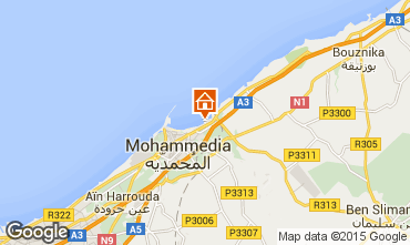 Mapa Mohammedia Apartamentos 90167