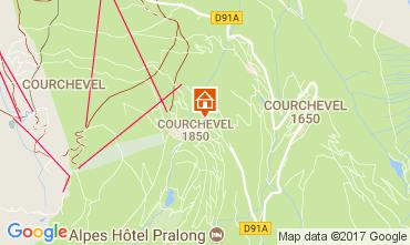 Mapa Courchevel Estúdio 112100