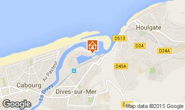 Mapa Cabourg Apartamentos 10780