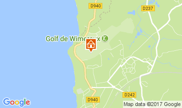 Mapa Wimereux Casa 68731