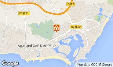 Mapa Cap d'Agde Estúdio 63870