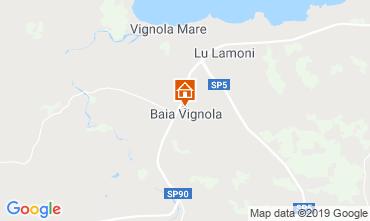 Mapa Aglientu Apartamentos 119359