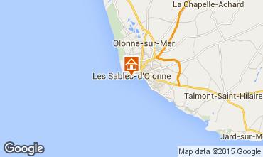Mapa Les  Sables d'Olonne Apartamentos 92698