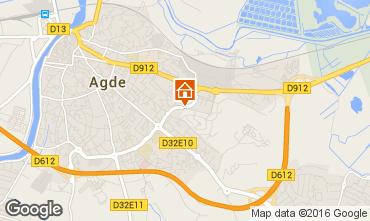 Mapa Cap d'Agde Apartamentos 103108