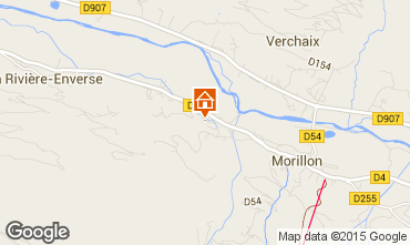 Mapa Morillon Grand Massif Chal� 88559