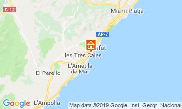 Mapa La Ametlla de Mar Vivenda 118540