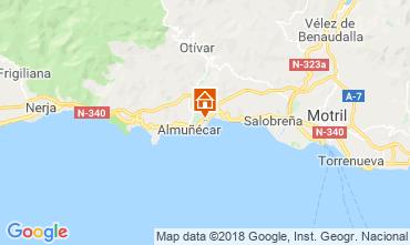 Mapa Almuñecar Apartamentos 116078