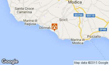 Mapa Donnalucata Apartamentos 102083