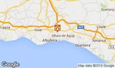Mapa Albufeira Vivenda 102379