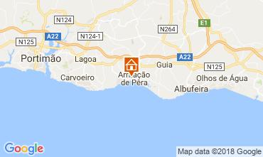 Mapa Armação de Pera Apartamentos 114726