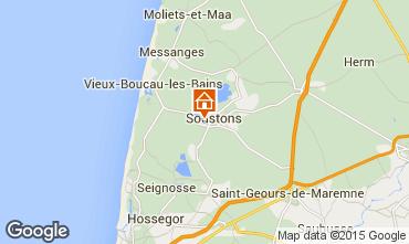 Mapa Soustons Vivenda 77329