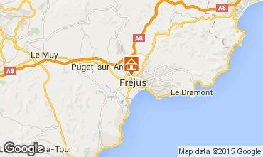 Mapa Fréjus Apartamentos 85654