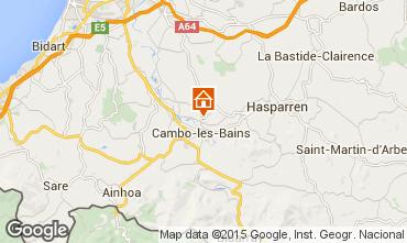Mapa Cambo les Bains Mobil Home 81597