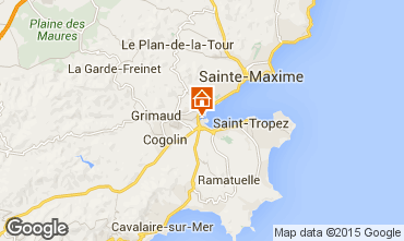 Mapa Port Grimaud Casa 9087