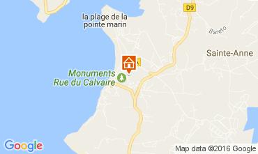 Mapa Sainte Anne (Martinique) Apartamentos 67787