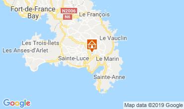 Mapa Sainte Luce Apartamentos 114516