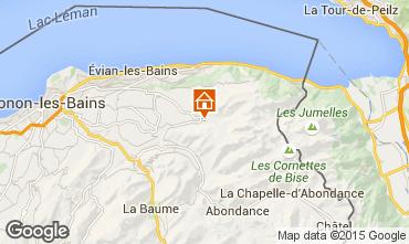 Mapa Bernex Apartamentos 15241