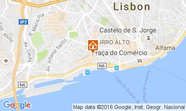 Mapa Lisboa Apartamentos 106237