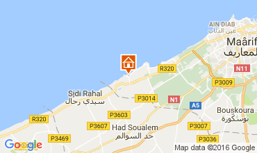 Mapa Casablanca Apartamentos 106856