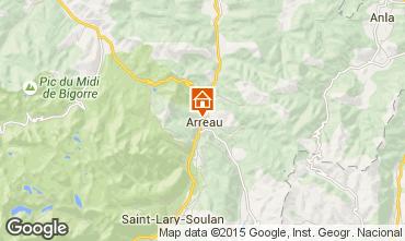 Mapa Saint Lary Soulan Chal� 4470