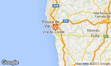 Mapa Vila do Conde Chal� 101366