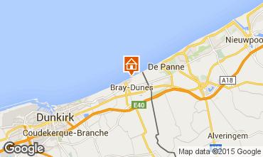 Mapa Bray-Dunes Apartamentos 93449