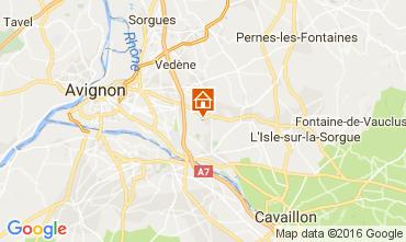 Mapa Châteauneuf-de-Gadagne Casa de turismo rural/Casa de campo 106637