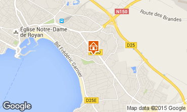 Mapa Royan Apartamentos 71715