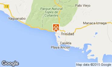 Mapa Trinidad Quarto de hóspedes 86746