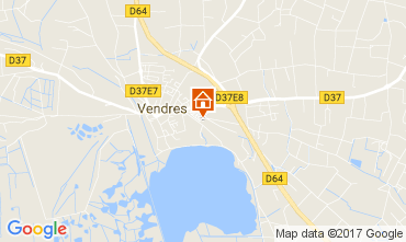 Mapa Valras-Praia Vivenda 112635