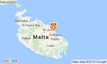 Mapa Sliema Apartamentos 115432