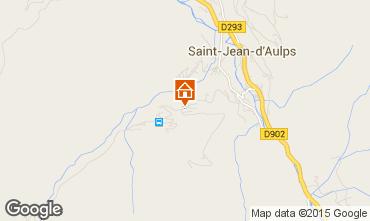 Mapa Saint Jean d'Aulps- La Grande Terche Apartamentos 48953