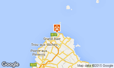 Mapa Grand Baie Apartamentos 58816