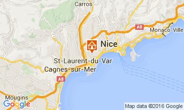 Mapa Nice Apartamentos 105916