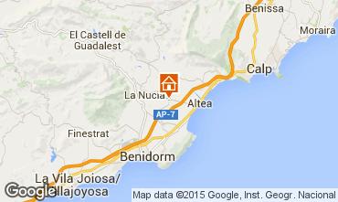 Mapa Altea Vivenda 99083