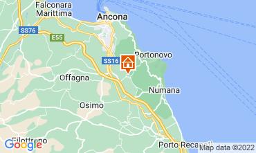 Mapa Sirolo Apartamentos 111317
