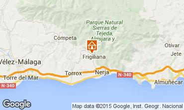 Mapa Frigiliana Casa 95953