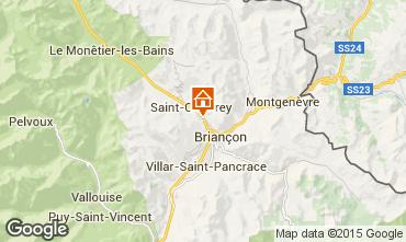 Mapa Briançon Apartamentos 80698