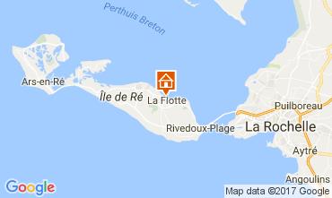 Mapa La Flotte en Ré Vivenda 107831