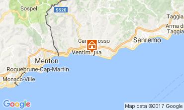 Mapa Ventimiglia Bungalow 110570