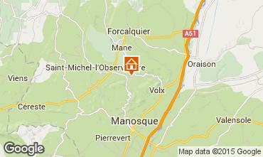 Mapa Forcalquier Casa de turismo rural/Casa de campo 11875