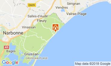 Mapa Saint Pierre la Mer Apartamentos 92705