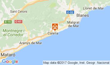 Mapa Calella de Mar Apartamentos 111108