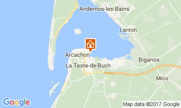 Mapa Arcachon Apartamentos 92451